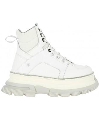 берцы art alternative 1642 multi leather white / art core 2