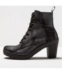 ботинки art 1756f suede painted black / travel