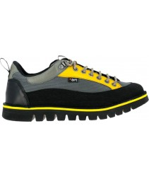 сникеры art 1580 multi leather grey-yellow/ontario