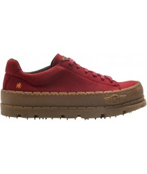 сникеры art 1773 micro suede red/blue planet