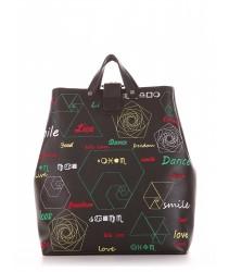 сумка-рюкзак alba soboni 191711 black