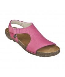 Босоножки El Naturalista n309 trufa pink / torcal