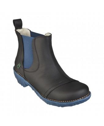 Ботинки El Naturalista n158 pull grain black-egeo/yggdrasil
