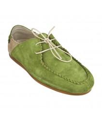 Мокасины El Naturalista n943 lux suede green-piedra / camaron