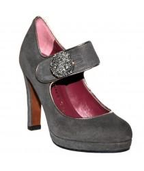 Туфли sacha london jeriel ante/metal cosmos gris/pewter
