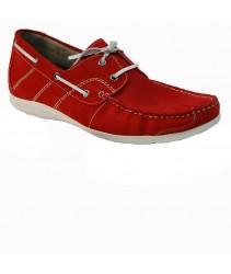 Топ-сайдеры Caprice 13204-28-513 red suede/white