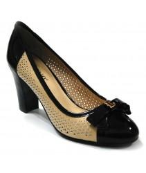 Туфли cornelio 606-9-28/y917/8 beige-black