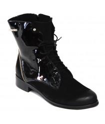 Ботинки Nik 08-0223-402 black